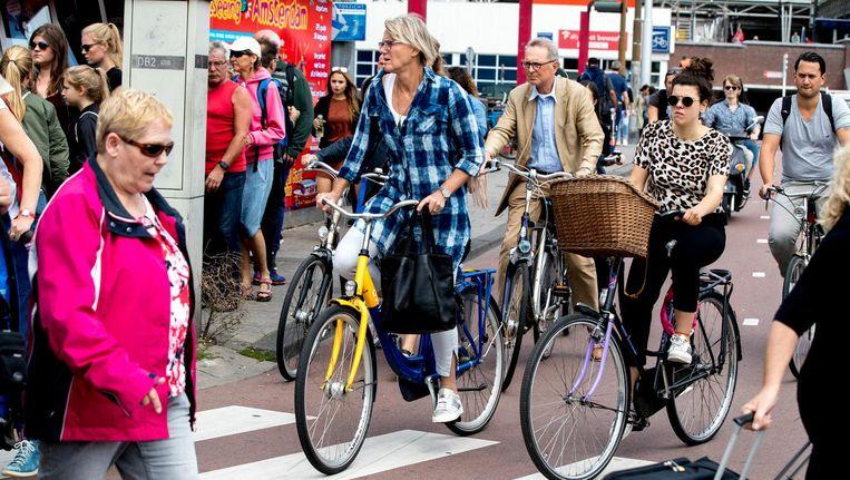 Amsterdammers laten de auto het vaakst staan. Beeld anp