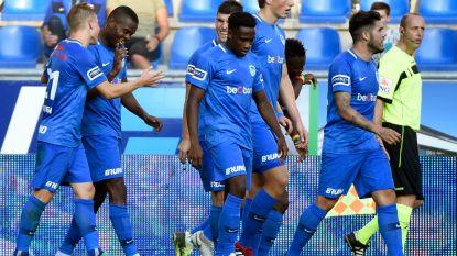 VIDEO. Genk nestelt zich met 10 op 12 naast Club nadat het erg knap scheve situatie tegen Charleroi helemaal ombuigt
