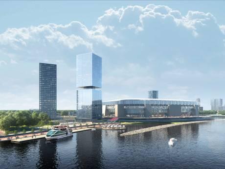 KNVB in zijn nopjes met schuifdak op nieuw Feyenoordstadion