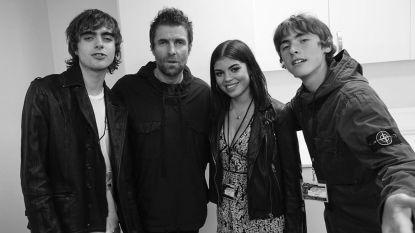 Eindelijk: na 19 jaar ziet Liam Gallagher  zijn dochter Molly voor het eerst terug