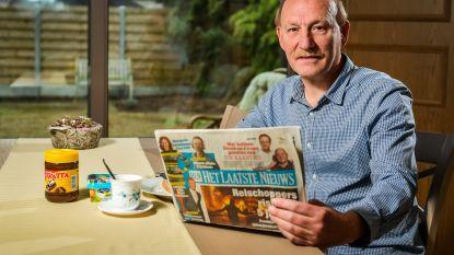 Lezer bij het ontbijt: Rudi Goris (58) uit Tremelo