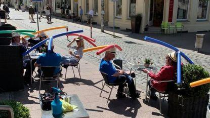 Horecazaken worden 'creatief' om afstand tussen klanten te bewaren