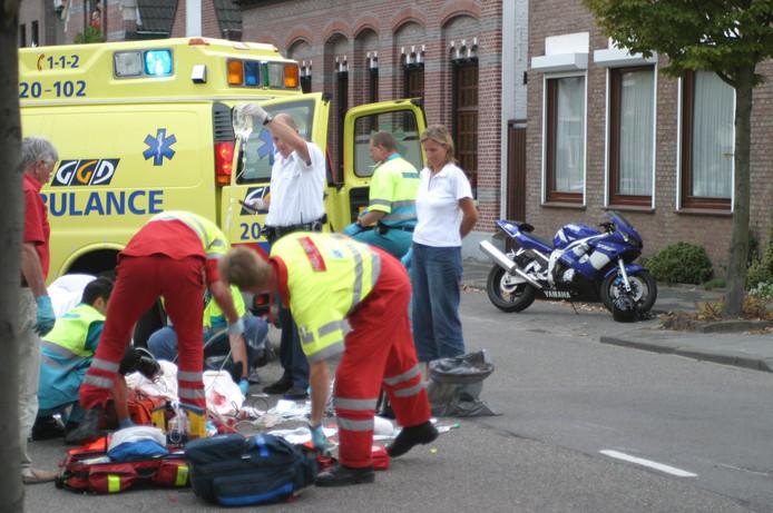 Ambulances blijven beschikbaar voor spoedeisende patiënten.