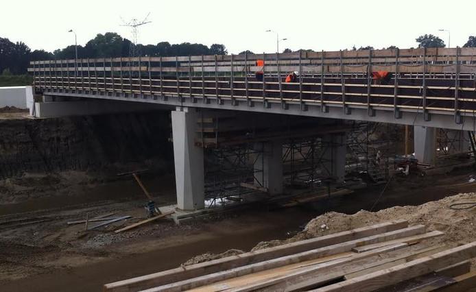 De aanleg van de nieuwe, verbrede N279 tussen Veghel en Den Bosch