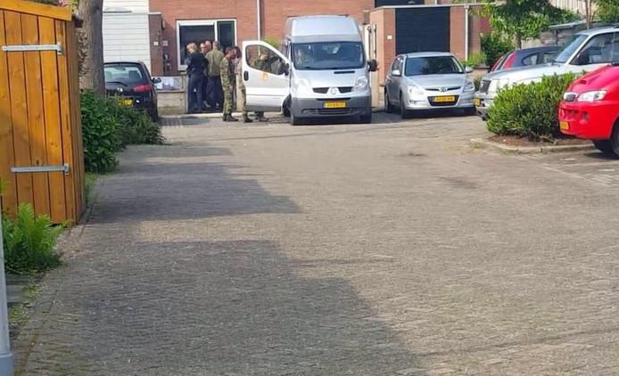 De arrestatie van Amine A. op 1 juni 2016 in Moordrecht.