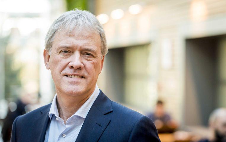 Peter Wennink, CEO bij chipmachinefabrikant ASML. Beeld ANP XTRA