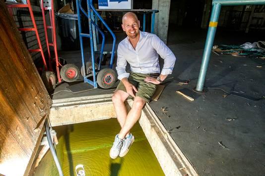 Wie wil een miljoen liter water? Joost Kleine Snuverink heeft er een kelder vol van.