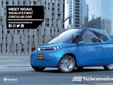 Nederlanders ontwerpen recyclebare wegwerpauto