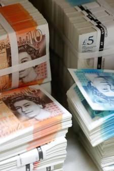 """50 milliards de livres sterling ont """"disparu"""" au Royaume-Uni"""