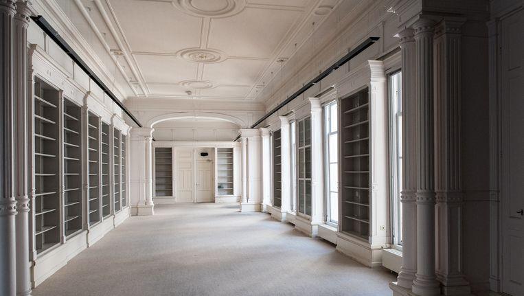 Het gebouw (uit 1664 en 1864) aan de Prinsengracht heeft ruim 175 jaar gediend als het gerechtshof. Beeld Mats van Soolingen