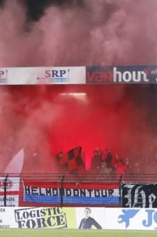 Helmond Sport zet klopjacht in op vuurwerkgooier in derby: 'Spelen met het leven van een ander gaat te ver'