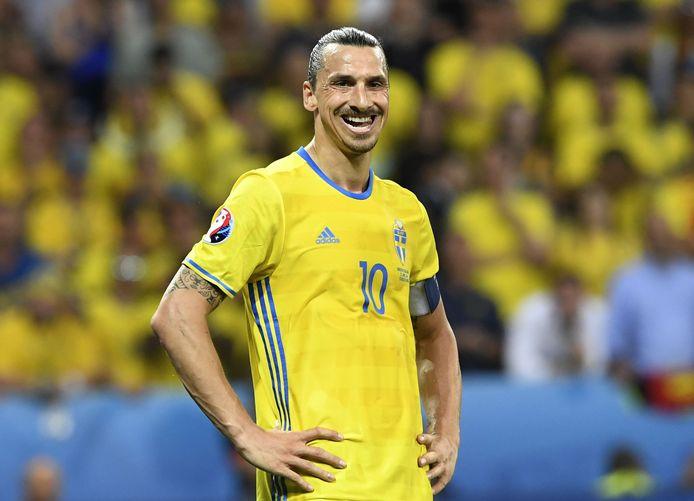 Ibrahimovic bij Zweden.