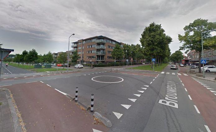 Bovenaan de lijst staat de kruising van de Brouwersdijk met de Bosboom-Toussaintstraat.