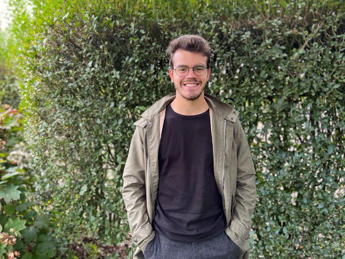 CD&V'er Lander Van Steen (21) zal partijgenoot Alex Verbergt tijdelijk vervangen in de gemeenteraad
