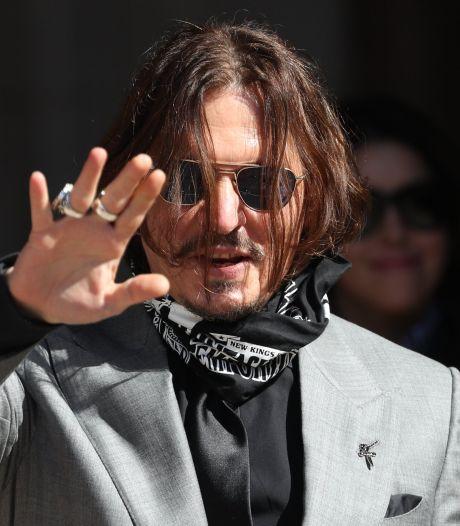 Procès perdu contre le Sun: la demande d'appel de Johnny Depp rejetée