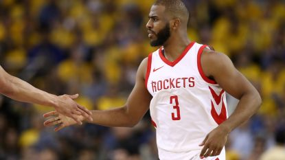 Houston brengt stand in evenwicht tegen Golden State