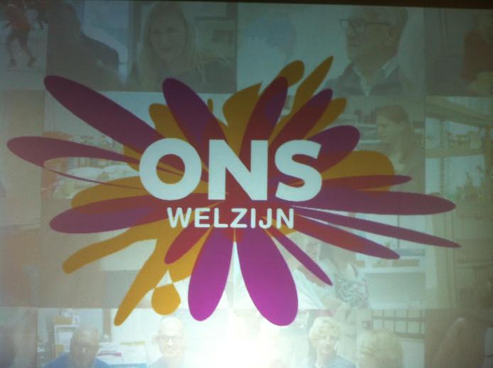 Het logo van ONS welzijn.