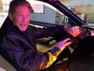 Knight Rider-auto van David Hasselhoff verkocht voor 250.000 euro