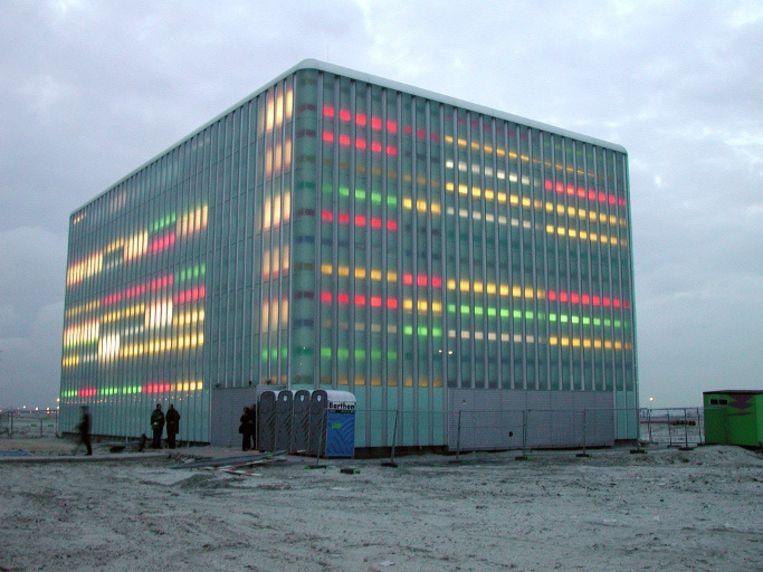 Telefooncentrale IJburg in 2001. Foto © Johannes Abeling Beeld