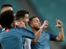 Eden Hazard, un titre en guise d'adieu? Sarri en colère à l'entraînement