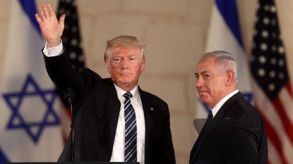 """Trump:""""Joodse claim op Heilig Land is eeuwig"""""""