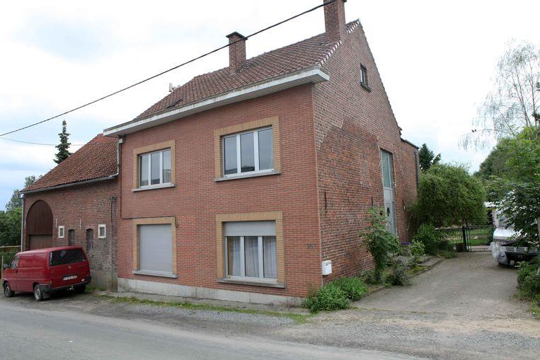 De woning waar het slachtoffer de dood vond.