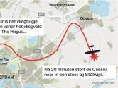 'Vliegtuig simuleerde waarschijnlijk een noodlanding'
