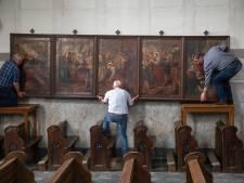Bezwaar of geen bezwaar, parochie verwijdert kunstschatten uit Luciakerk Ravenstein