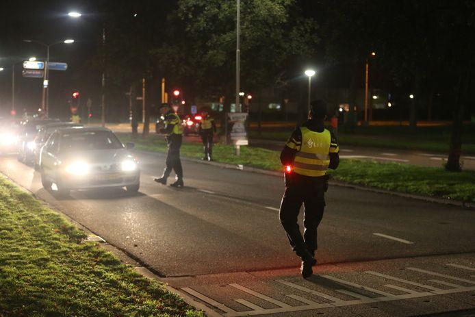 Een aantal maatregelen lijken ervoor te zorgen dat het woensdagavond relatief rustig is in Roosendaal.