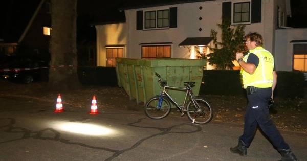 Man bewusteloos op Heiweg in Vught na ongeval met fiets.