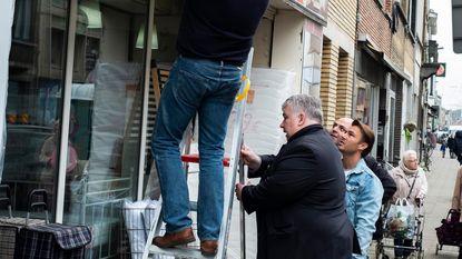 """""""Dé Herentalsebaan blijft bereikbaar. Náh!"""""""