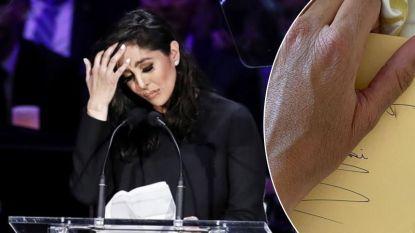 """""""Ik mis de liefde van mijn leven"""": jarige Vanessa Bryant opent pijnlijk accuraat briefje dat Kobe haar nog geschreven had"""