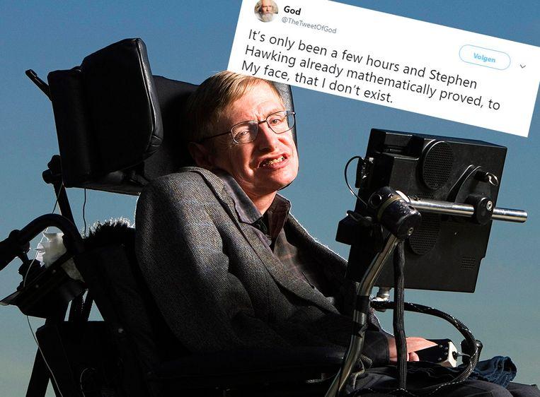 tweet Hawking God