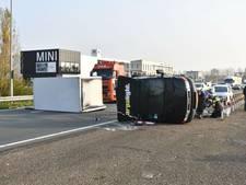 Groot ongeval N11: weg weer vrijgegeven