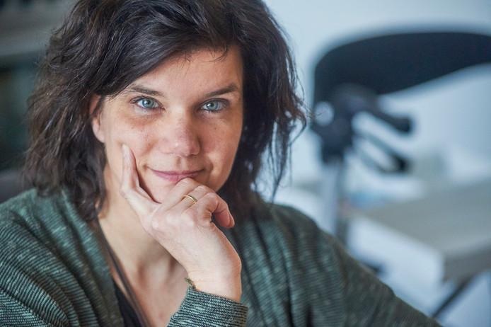 MS-patiënte Angelique van Hooft uit Uden.