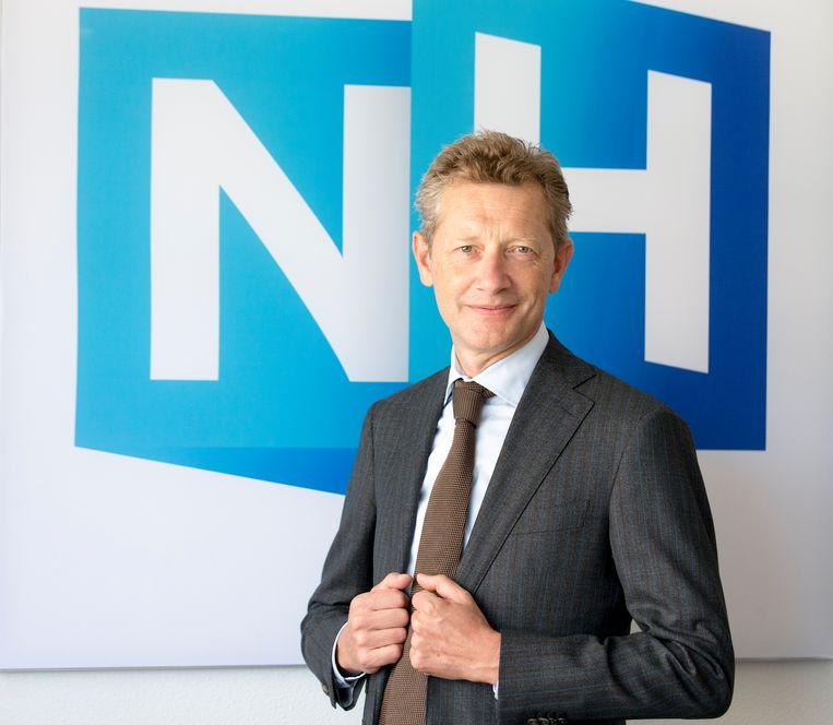 Portret van algemeen directeur Paul van Gessel op de redactie van NH, het mediabedrijf van Noord-Holland. Beeld ANP XTRA
