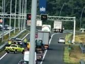Weg weer vrij na ongeluk op A2 bij Eindhoven met motorrijder