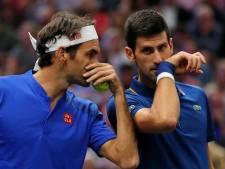 Superduo Federer/Djokovic onderuit