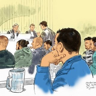 'Vuile kankerleugenaar! Je liegt', roept verdachte Mohamed R. tegen de kroongetuige