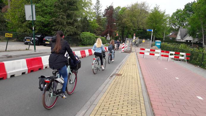 De Jan Steenlaan wordt omgebouwd tot fietsstraat.