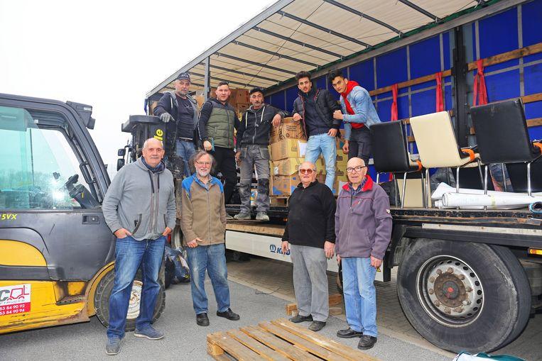 De leden van het Affligemse Roemenië-comité stoppen met het overbrengen van hulpgoederen.