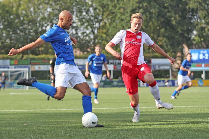 Barry Powel scoorde vorige week tegen Scheveningen zijn vierde competitietreffer voor GVVV.
