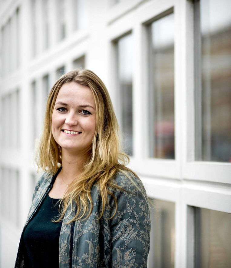Paula Schot, lijsttrekker SGP Amsterdam. Beeld null