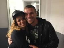 Rihanna tombe dans les bras de Lukas Podolski