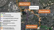 Maand lang hinder in Witloofstraat door aansluiting nieuwe aardgasleiding