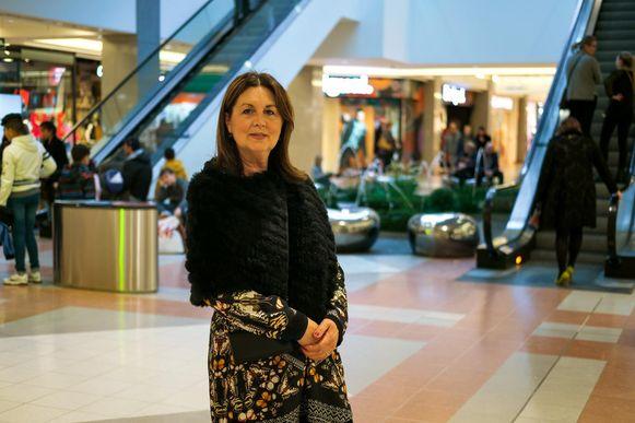 """Nicole Bats, manager van het shoppingcenter: """"Ondanks de lichte terugval blikken we tevreden terug."""""""
