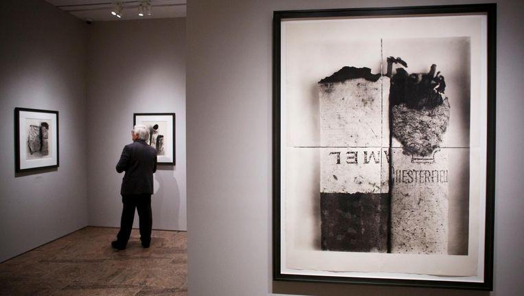 De tentoonstelling Irving Penn: Centennial in het Metropolitan Museum in New York. Beeld epa