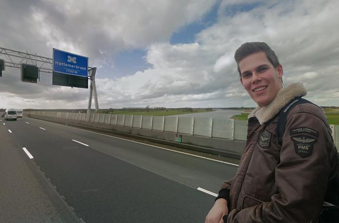 Wiljan zoekt naar het meisje waar hij op de A28 bijzonder contact mee had.