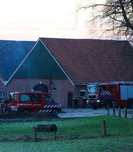 Brand in schuur met kleinvee in Beuningen