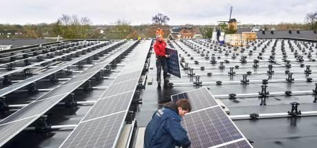 Sporthal Burcht  Boekel  verder verduurzaamd, nu met zonnepanelen